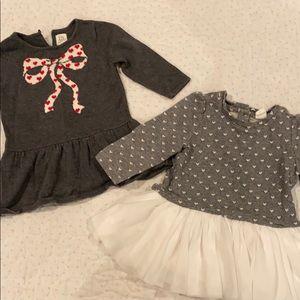 Baby Gap long sleeve sweater dresses